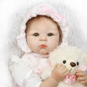 Bebe Reborn Menina 50 Centimetro - VJ3YVVB8N