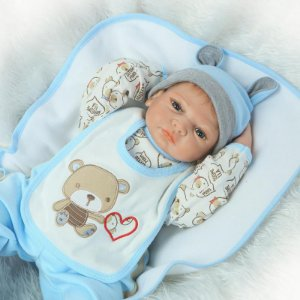Bebê Menino 50 Centímetros Loirinho - A2QJ47HK9