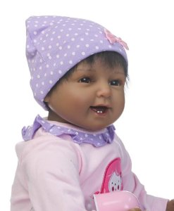 Boneca Realista Bebê 55 Centímetros - 6AJ546BAC