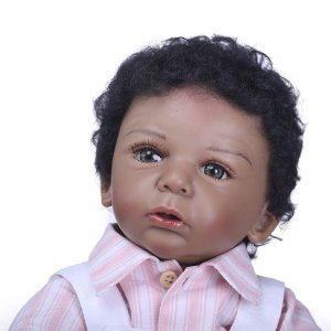 Bebê Reborn Menino Moreninho Lindo 48 Centímetros - 7PZZDUGU8