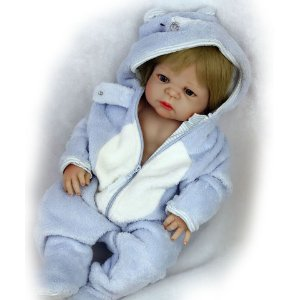 Lindo Bebê Reborn 100% Silicone 55 Centímetros - WJ5GXGBGR