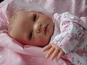 Bebê Reborn Hiper Realista 50 Centímetros - P886FXS99
