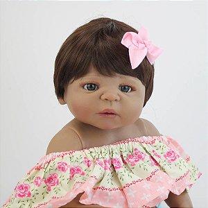 Reborn Bebê 55 Centímetros Lançamento - YXS78EHK5
