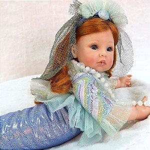 Bebê Sereia Edição Especial 55 Centímetros - EPQ53XV59