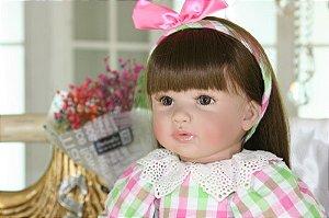 Boneca Realista 60 Centímetros Exclusiva Reborn Bebe - XJLA9NAS2