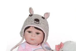 Bebê Reborn 48 Centímetros 100% Silicone - YUAYJLBQN