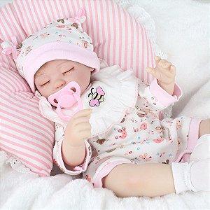 Linda Reborn Dormindo Lançamento 43 Centímetros - YRVA6DGWG