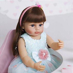 Boneca Reborn Modelo 2021 Modelo Exclusivo 55 Centímetros