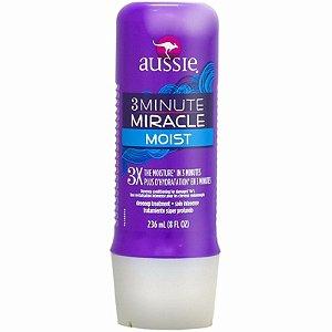 Máscara Aussie 3 Minute Miracle Moist 236ml