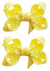 Duplinha Bico de Pato Pespontado Baby (4,5 x 3 cm)