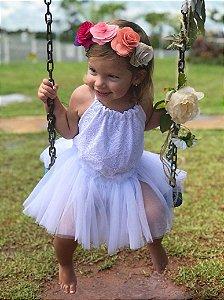 Tiara Floral Havaí