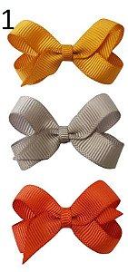 Kit de Lacinhos para colar Beatriz Baby (4,5 x 3,0 cm) - NÃO ACOMPANHA COLA