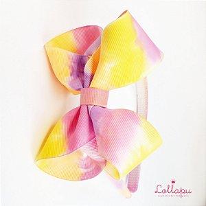 Arquinho - Tiara Tie Dye Artesanal