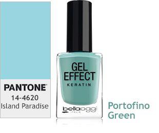 Esmalte Gel Effect Keratin - Portofino Green 54 - 10 ml