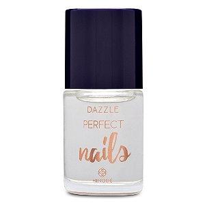 Base Incolor para Unhas Extra Brilho hinode Dazzle Perfect Nails - 10 ml