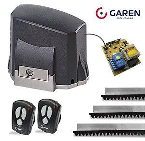 Kit Motor Portão Eletrônico Deslizante Garen Kdz 1/4 Hp