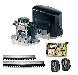 Kit Motor Portão Eletrônico KDZ Garen 1/3hp 700Kg 3 Metros