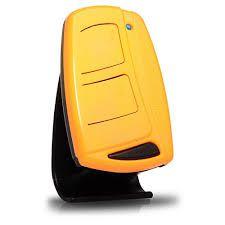Controle Remoto Para Portão Eletrônico 433mhz Tx Top Ipec Laranja