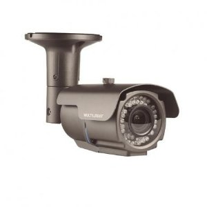 Camera Bullet Multilaser Ahdm 960p 12mm 72 Led Ip66 Se172