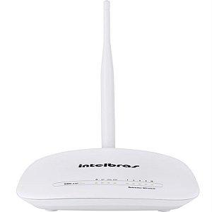 Roteador Intelbras Iwr 1000n, Branco, 4750036, 1 Antena, 150 Mpbs