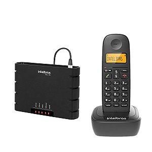 Kit Celular Rural Sem Fio Gsm P/ Antena Externa