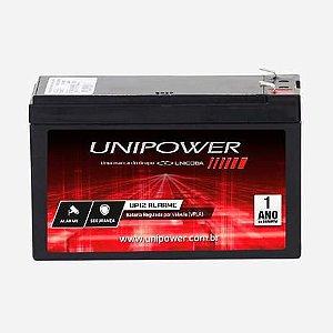 Bateria Selada P/ Alarme E Cerca Unipower 12V 7AMP