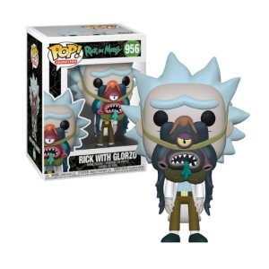 Rick and Morty Rick with Glorzo Pop - Funko