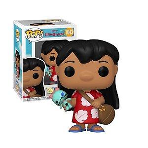 Disney Lilo & Stitch Lilo with Scrump Pop - Funko