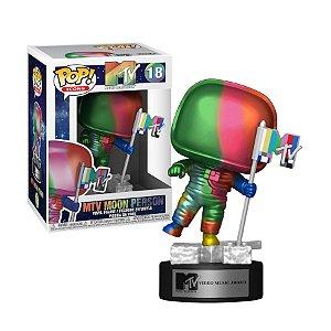 MTV MTV Moon Person Rainbow Pop - Funko