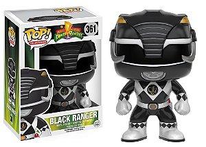 Power Rangers Black Ranger Pop - Funko