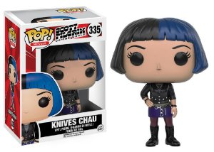 **PROMO** Scott Pilgrim vs The World Knives Chau Pop - Funko