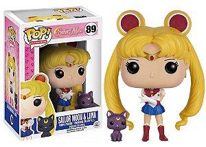 Sailor Moon Sailor Moon & Luna Pop - Funko