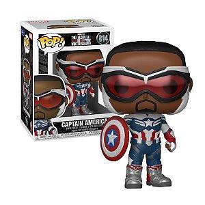 Marvel Falcon and The Winter Soldier Captain America Pop - Funko
