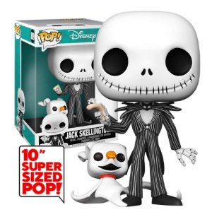 "Disney Nightmare Before Christmas Jack Skellington 10"" Pop - Funko"