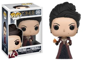 Once Upon a Time Regina with Fireball Pop - Funko