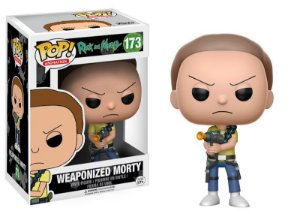 **PROMO** Rick And Morty Weaponized Morty Pop - Funko