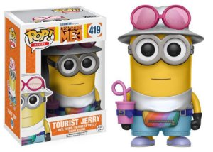 Meu Malvado Favorito Despicable Me Tourist Jerry Pop - Funko