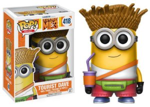 Meu Malvado Favorito Despicable Me Tourist Dave Pop - Funko