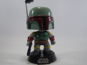 Loose Star Wars Boba Fett Pop - Funko