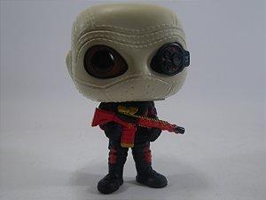 Loose Suicide Squad Deadshot Masked Pop -Funko