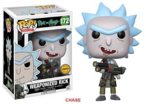 Rick and Morty Weaponized Rick Chase Limited Edition Pop - Funko