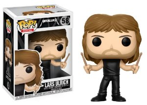 Metallica Lars Ulrich Pop - Funko