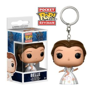 Chaveiro Disney Beauty & The Beast Belle Pocket Pop - Funko