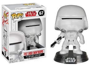Star Wars Last Jedi First Order Snowtrooper Pop - Funko
