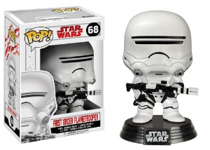 Star Wars Last Jedi First Order Flametrooper Pop - Funko
