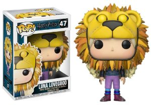 Harry Potter Luna Lovegood Lion Haed Pop - Funko