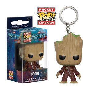 Chaveiro Guardians of the Galaxy Vol.2 Groot Pop - Funko