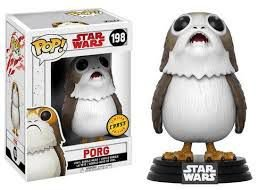 Star Wars Last Jedi Porg Chase Limited Edition Pop - Funko