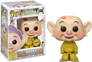 Disney Snow White Dopey Dunga Chase Limited Edition Pop - Funko