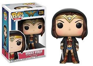 ***EM AGOSTO*** Wonder Woman Wonder Woman with Cloak  Pop - Funko